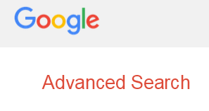 advanced google search